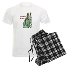 New Hampshire - Live Free or Die pajamas