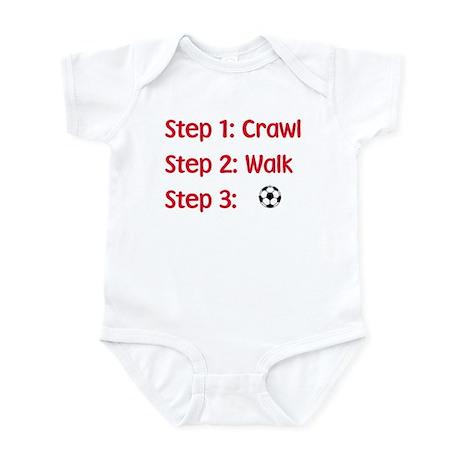 Step 3: Soccer Infant Bodysuit