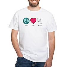 Peace Love & Westies Shirt