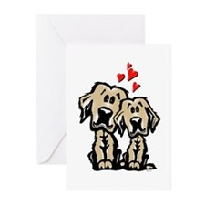 Golden Puppy Love Greeting Cards (Pk of 10)