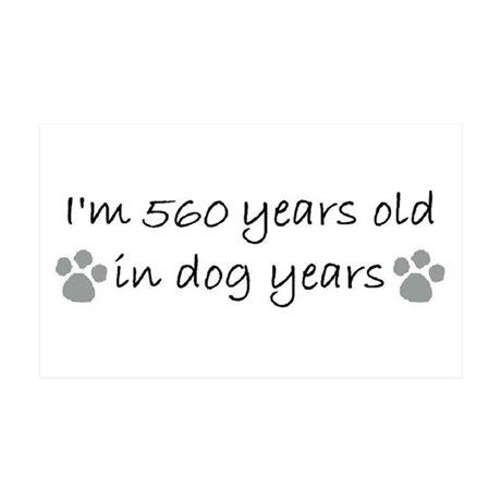 80 dog years 2-2.JPG Wall Decal