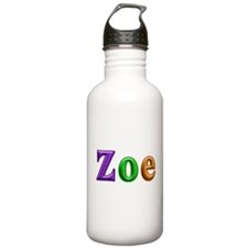 Zoe Shiny Colors Water Bottle