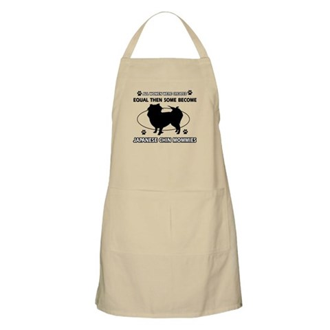 JAPANESE CHIN mommy designs Apron
