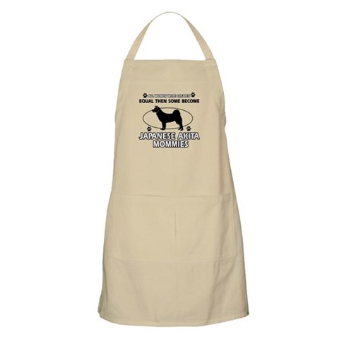JAPANESE AKITA mommy designs Apron