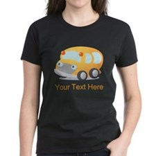 Personalized School Bus Tee