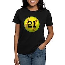 Softball Sports Personalized Tee
