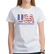 WORLD'S ONLY SUPERPOWER Women's T-shirt