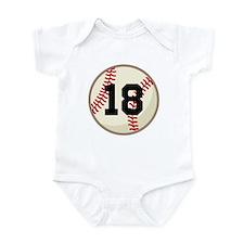 Baseball Sports Personalized Onesie