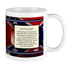 David Farragut Historical Mugs