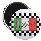 "Flags of SKA: ItaliSKA 2.25"" Magnet (100 pack)"