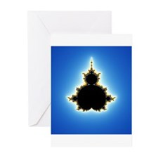 Fractals A Greeting Cards (Pack of 6)