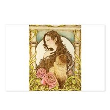 Cat Deva Postcards (Package of 8)
