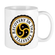 Recovery In the Lifestyle - Logo - Simplified Mugs