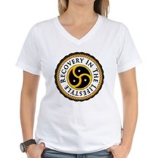 Recovery In the Lifestyle - Logo - Simplified T-Sh