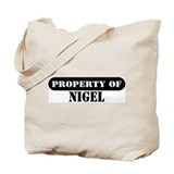 Property of Nigel Tote Bag