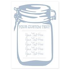 Custom Text Canning Jar Graphic Invitations