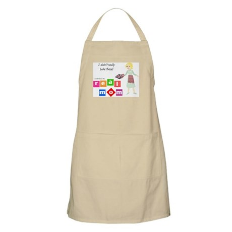Mom Doesn't Bake BBQ Apron