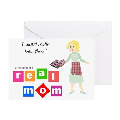 Mom Doesn't Bake Greeting Cards (Pk of 10)