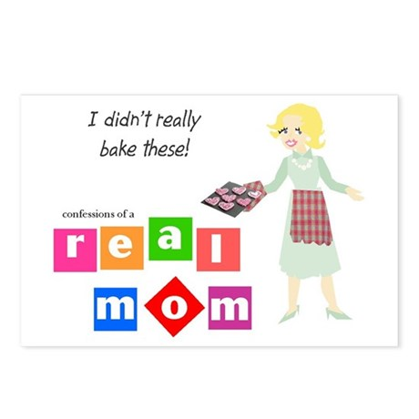 Mom Doesn't Bake Postcards (Package of 8)