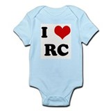 I Love RC Infant Bodysuit
