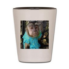 Emily sweet face blue dress  Shot Glass