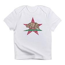 California Flag Star and Bear Infant T-Shirt