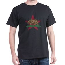 California Flag Star and Bear T-Shirt