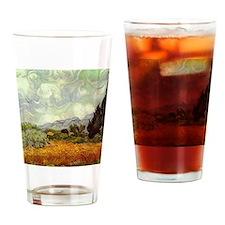 Vintage Van Gogh Art Drinking Glass