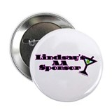 "Lindsay's AA Sponsor 2.25"" Button (10 pack)"