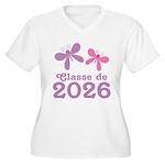 Classe de 2026 Graduation Plus Size T-Shirt