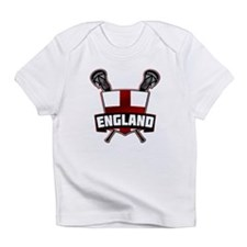 England Lacrosse Flag Logo Infant T-Shirt