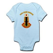 DUI - 75th Fires Brigade with Text Infant Bodysuit