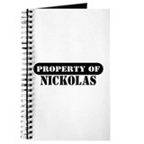 Property of Nickolas Journal