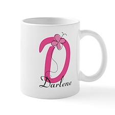 Letter D Monogram Personalized Mug