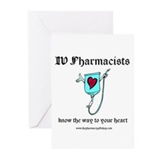 knows the way Pharm Greeting Cards (Pk of 10)