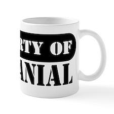 Property of Nathanial Mug
