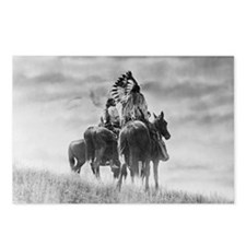 Mounted Warriors Postcards (Package of 8)