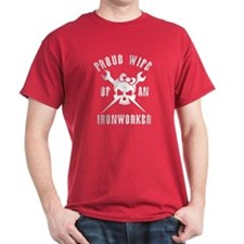 Proud WIFE of an Ironworker T-Shirt
