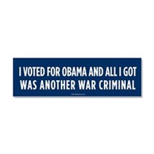 Another War Criminal Car Magnet 10 x 3