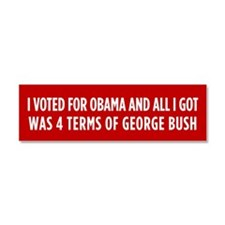 4 Terms Of Bush Car Magnet 10 x 3