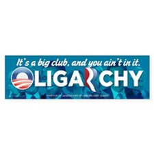 Oligarchy Bumper Sticker