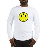 Enlightened Smiley Face Long Sleeve T-Shirt