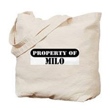 Property of Milo Tote Bag