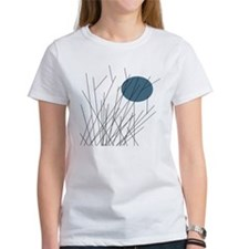 Minimalist Sunset BLUE MOON T-Shirt