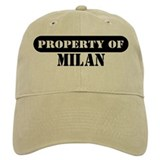 Property of Milan Baseball Cap