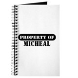 Property of Micheal Journal