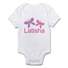 Personalized World's Best butterfly Infant Bodysui