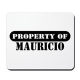 Property of Mauricio Mousepad