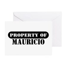 Property of Mauricio Greeting Cards (Pk of 10)