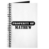 Property of Mathew Journal